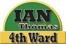Ian Thomas, candidate for Columbia city council fourth ward